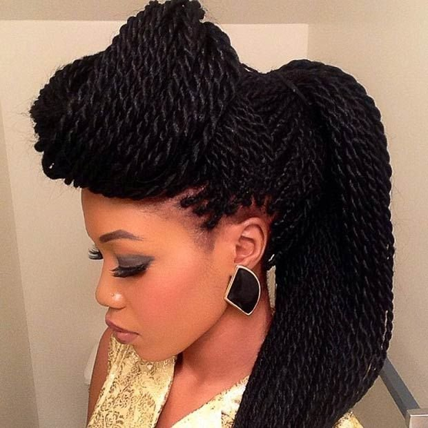 New 49 Senegalese Twist Hairstyles For Black Women Stayglam Ideas With Pictures