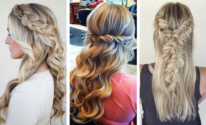 New 26 Stunning Half Up Half Down Hairstyles Stayglam Ideas With Pictures