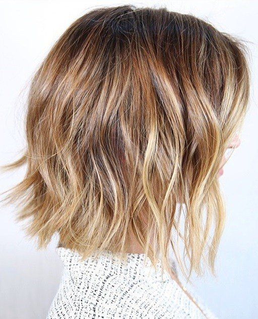 New Bronde Highlights And Beachy Bob Hairstyle – Mane Interest Ideas With Pictures