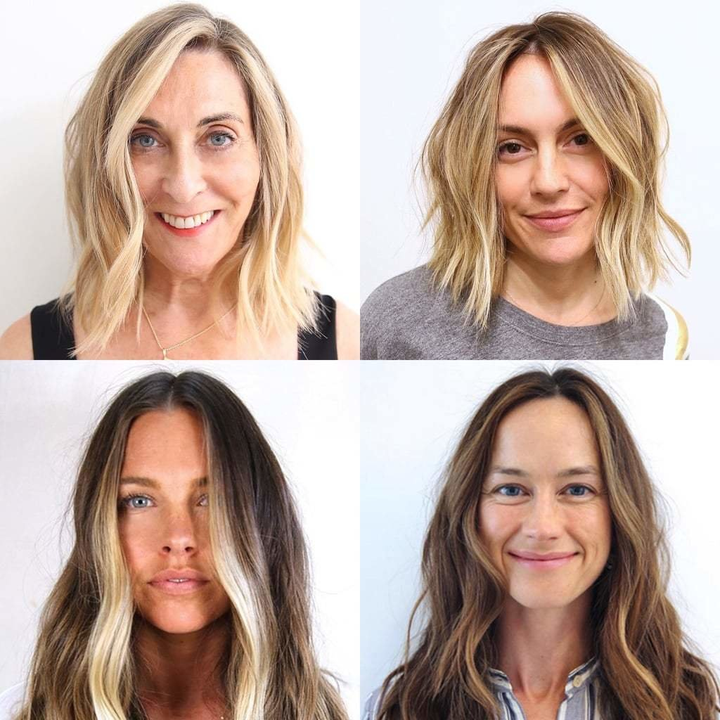 New How You Hair Can Make You Look Younger Popsugar Beauty Ideas With Pictures