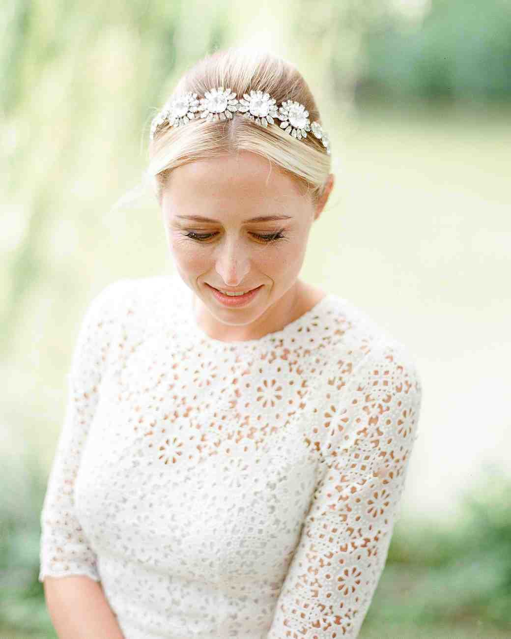 New The Best Hairstyles For Every Wedding Dress Neckline Martha Stewart Weddings Ideas With Pictures