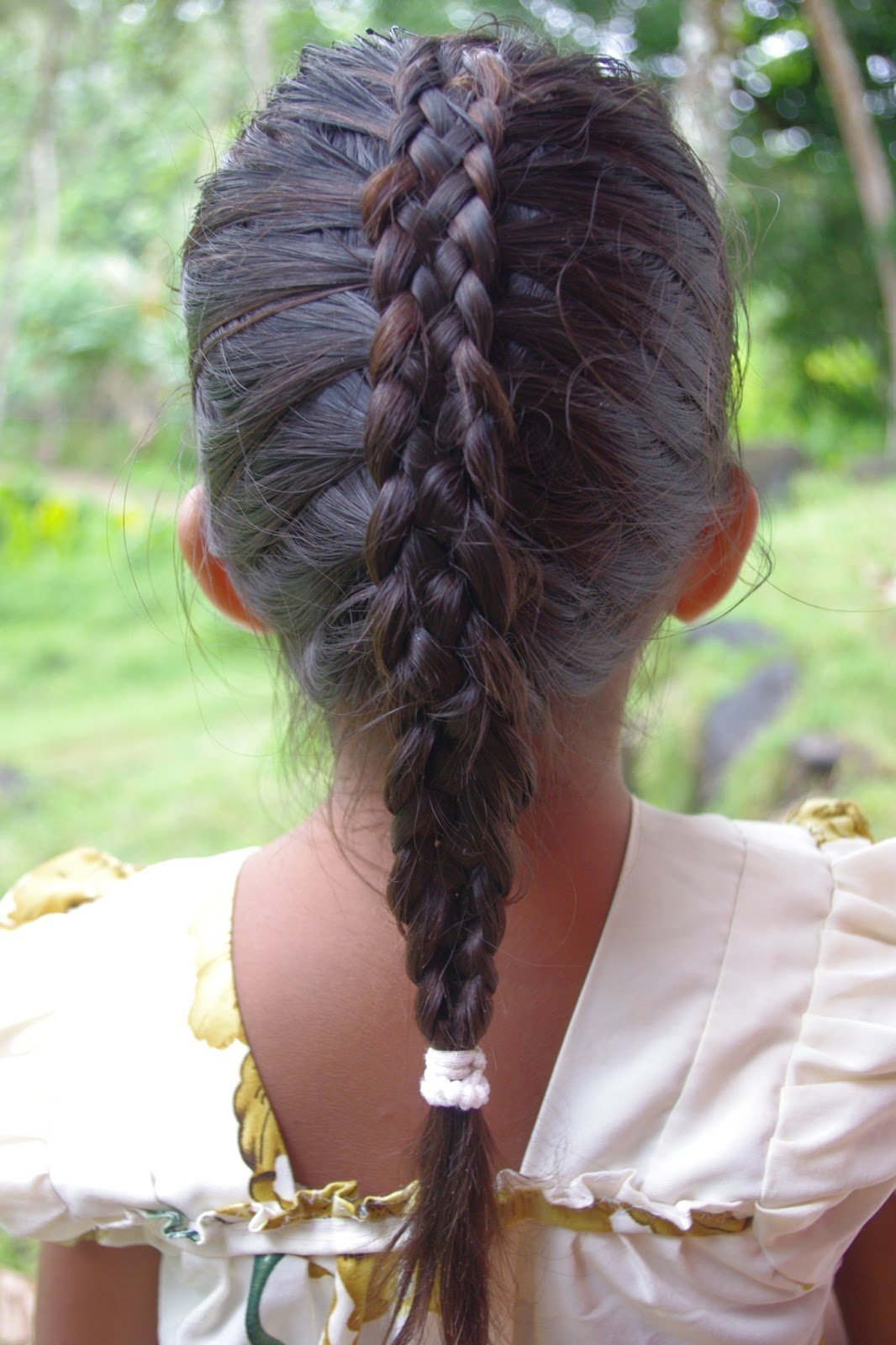 New Braids Hairstyles For Super Long Hair Micronesian Girl Two Cute Braided Hairstyles For Big Ideas With Pictures