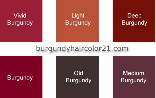 New Burgundy Hair Color Hair Color Styles Ideas With Pictures