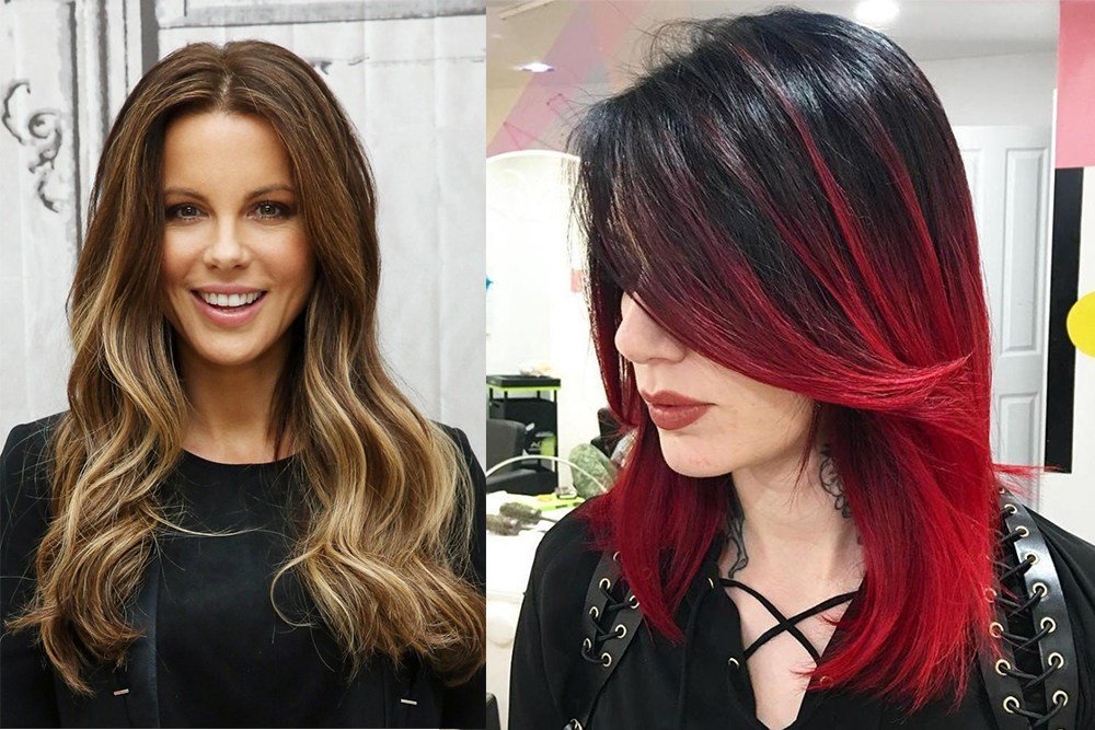 New Hair Trends 2017 Two Color Hair Ideas With Pictures
