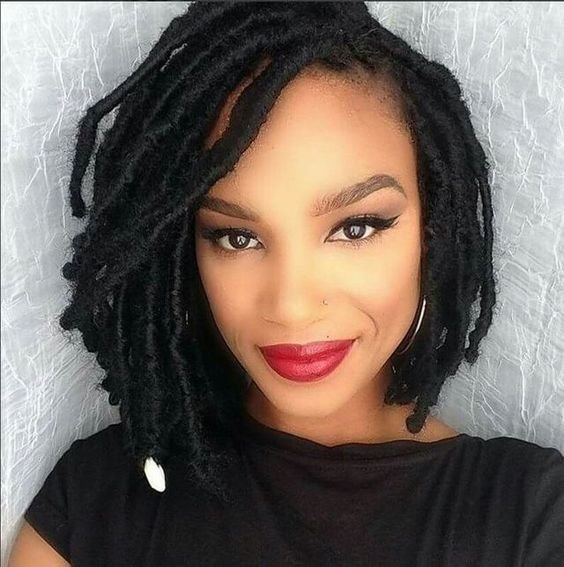 New 30 Short Faux Locs Hairstyles How To Style Short Faux Locs Ideas With Pictures