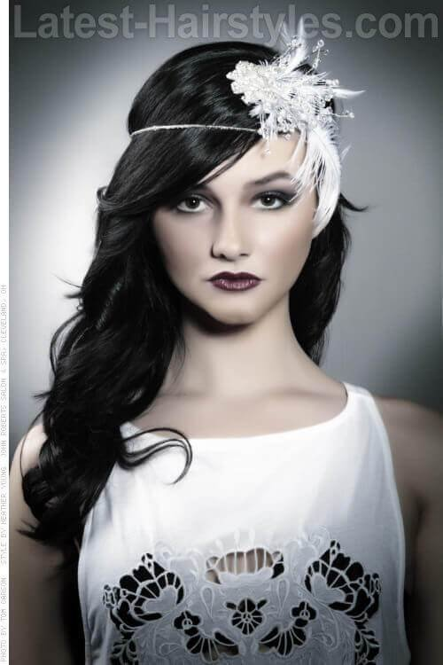 New Roaring 20S Long Hairstyles Hairstyle For Women Man Ideas With Pictures