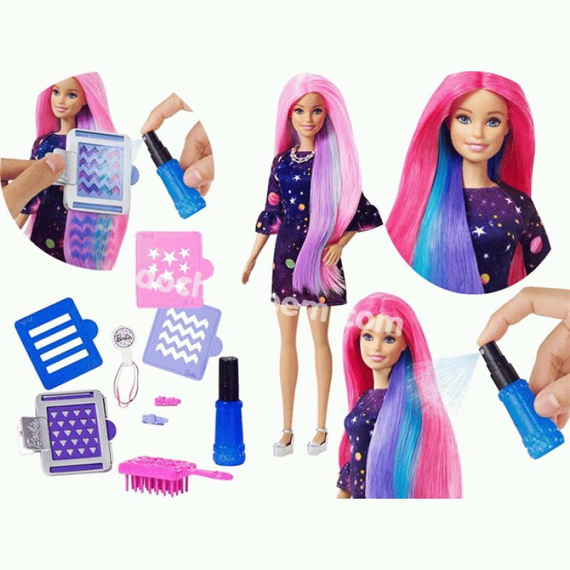 New Barbie Doll Changes Hair Color Barbie Toys Figures Ideas With Pictures Original 1024 x 768