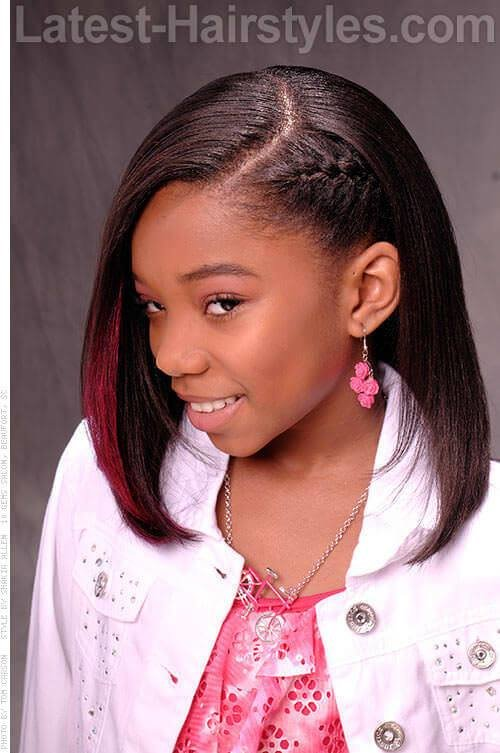 New 20 Cute Hairstyles For Black Teenage Girls Ideas With Pictures