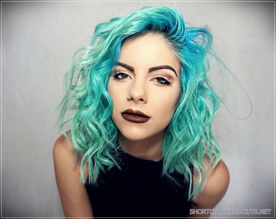 New Getting The Best Hair Color For Curly Hair Short And Ideas With Pictures