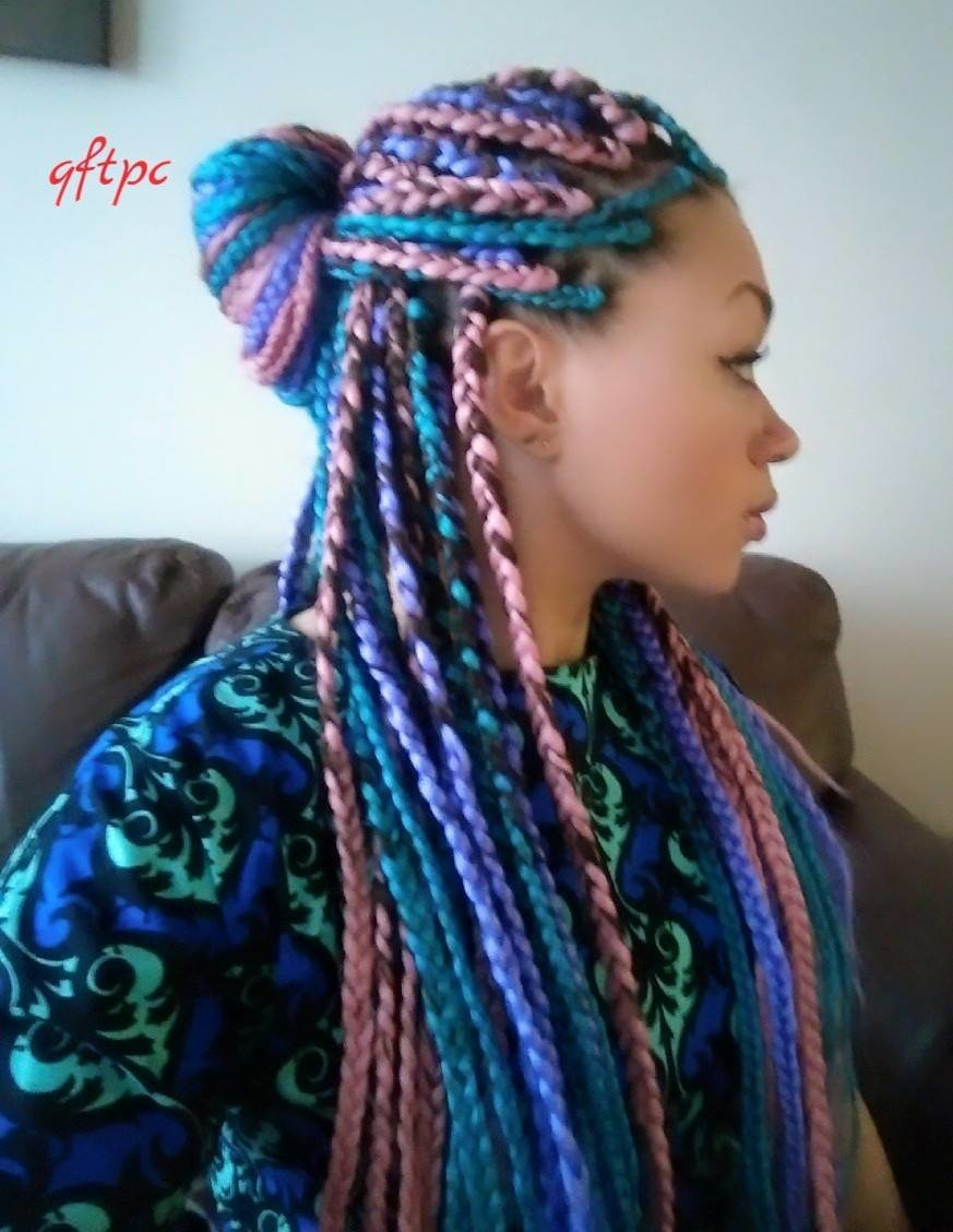 New Box Braids Hairstyles Girlterest Ideas With Pictures