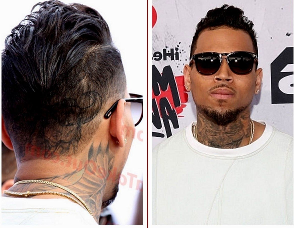 New Chris Brown Haircut Haircuts Models Ideas Ideas With Pictures