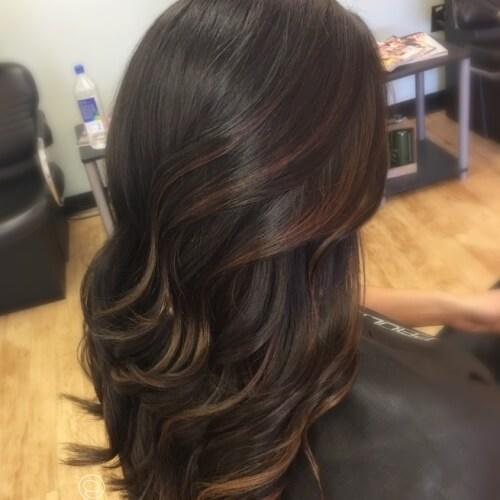 New 50 Highlights With Fabulous Effects On Dark Brown Hair Ideas With Pictures