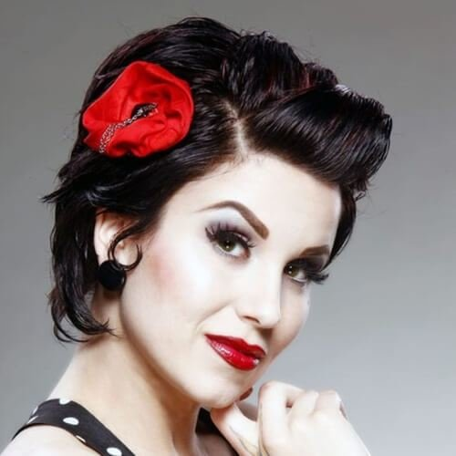 New 50 Pin Up Hairstyles For Retro Glam Hair Motive Hair Motive Ideas With Pictures