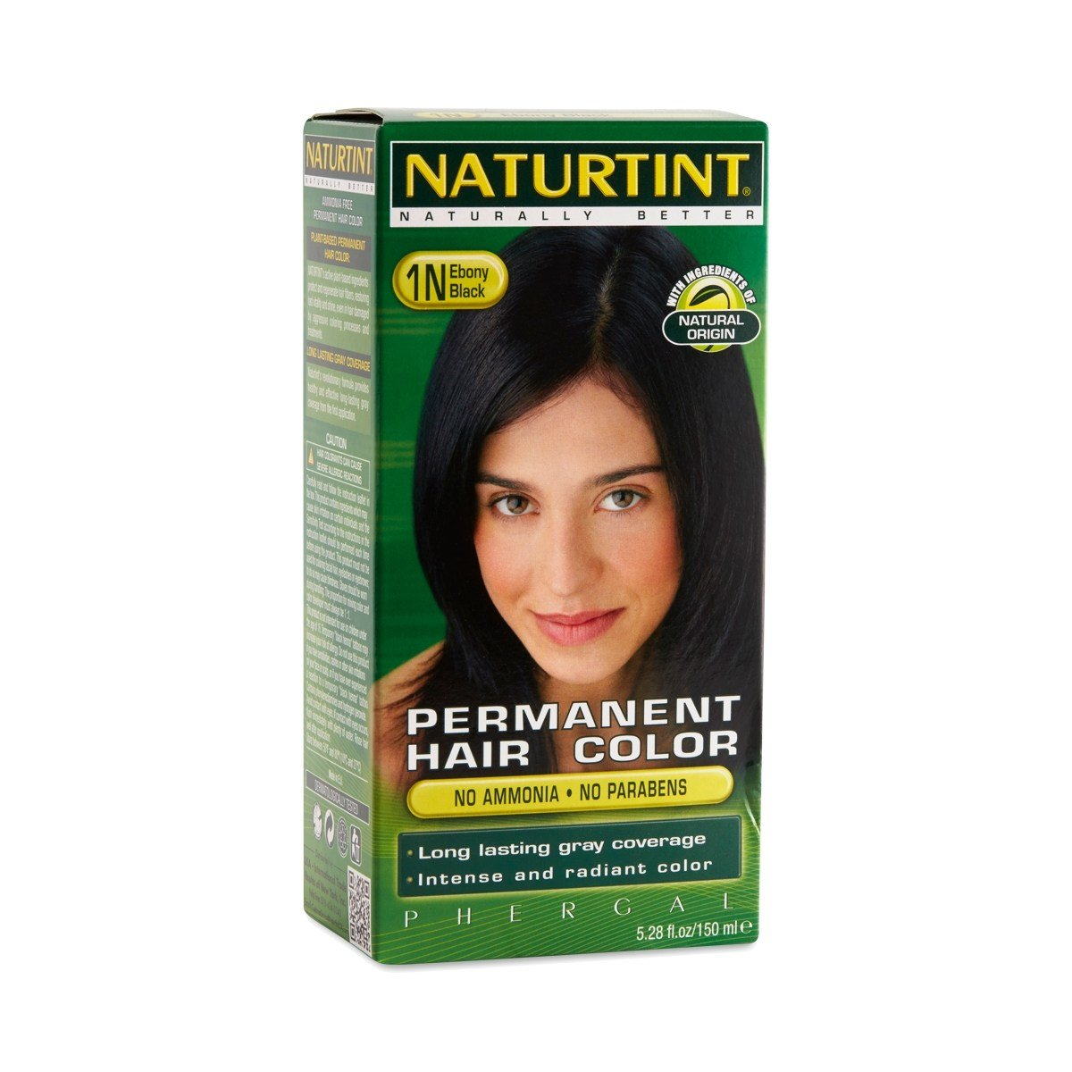 New Ebony Black 1N Permanent Hair Color By Naturtint Thrive Ideas With Pictures