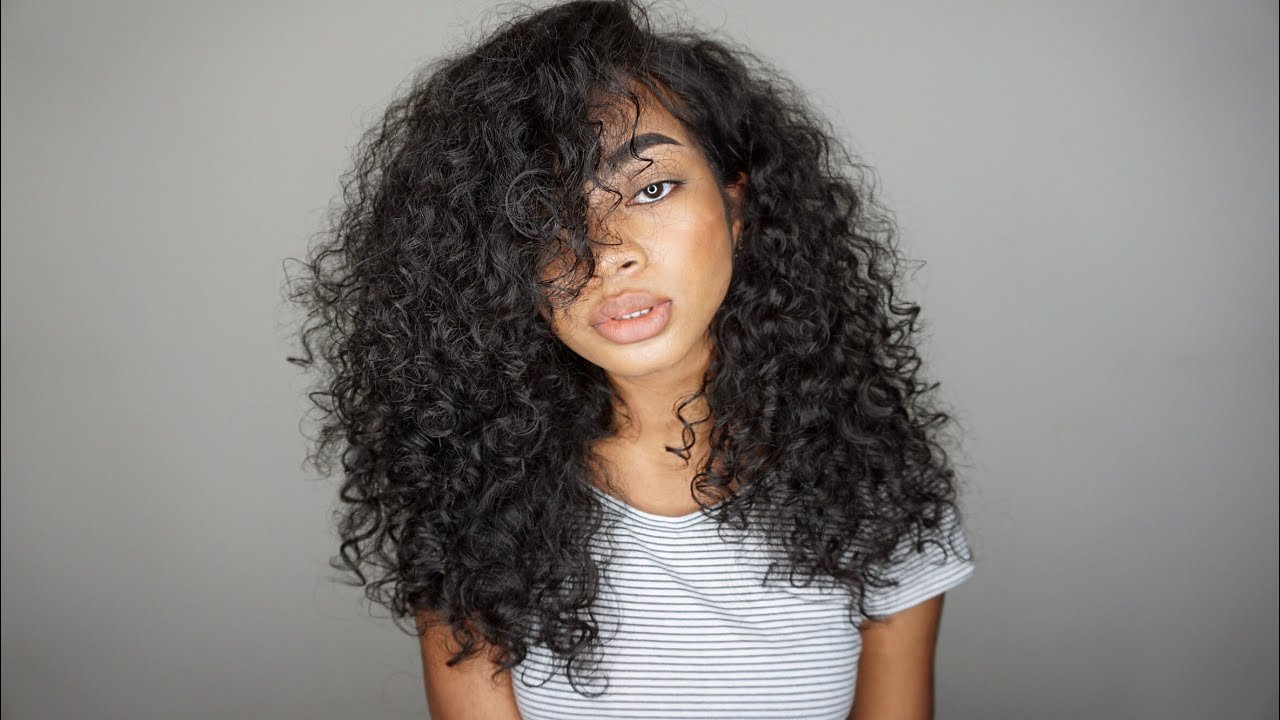 New Updated Simple Big Curly Hair Routine 2016 3A 3B Youtube Ideas With Pictures