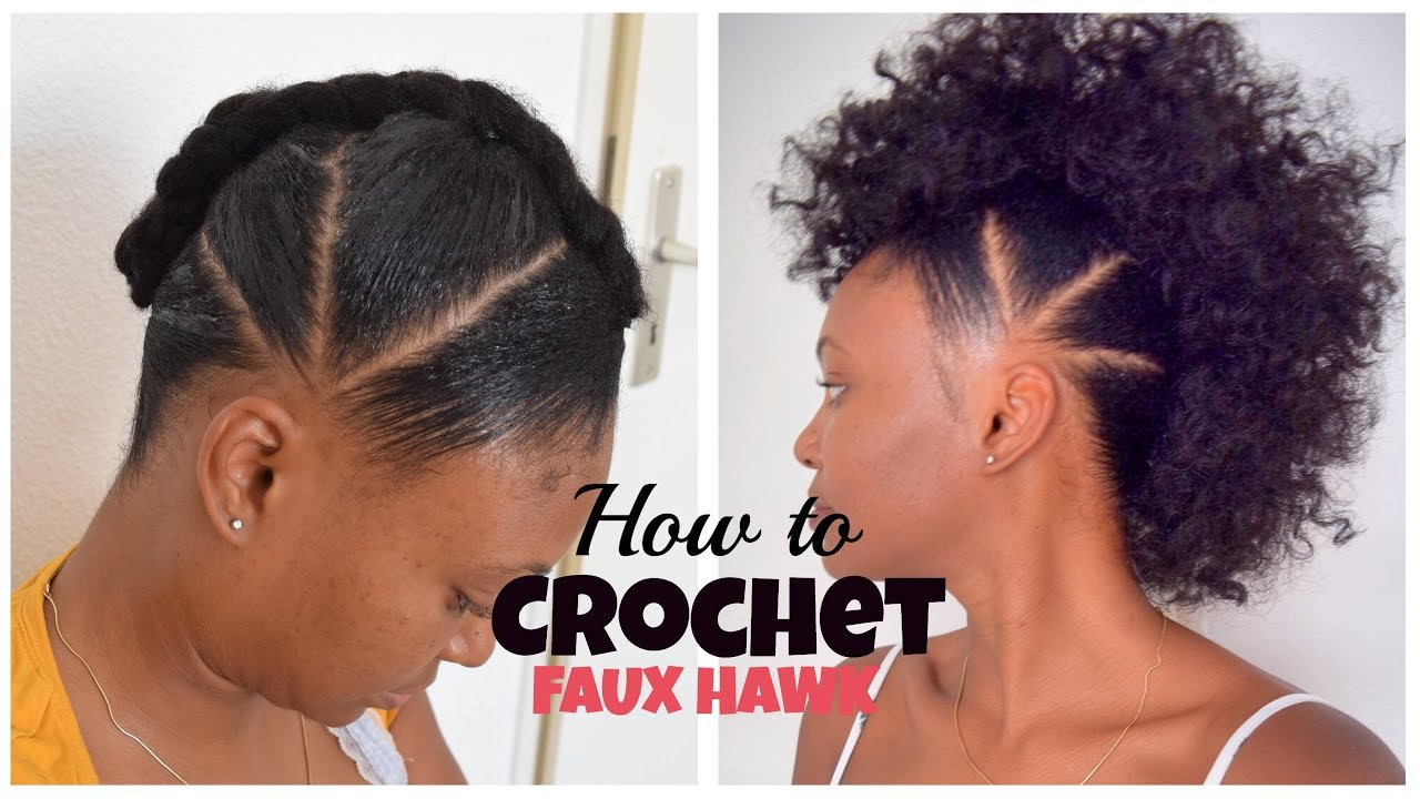 New How To Crochet Faux Hawk With Overthetophaircollection Ideas With Pictures
