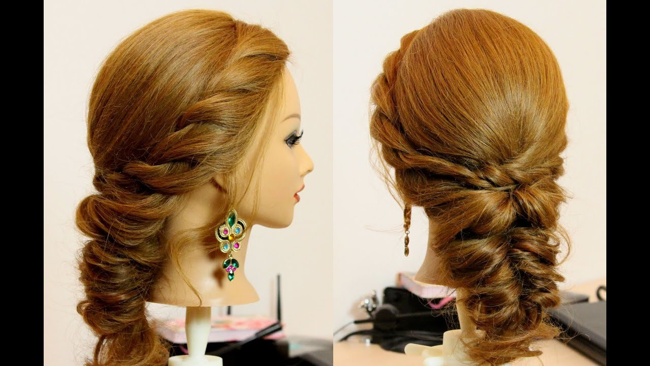 New Easy Everyday Hairstyle For Long Medium Hair Tutorial Ideas With Pictures