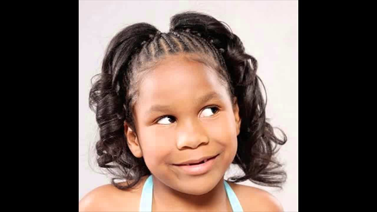 New African American Little Girl Kids Ponytail Hairstyles Ideas With Pictures