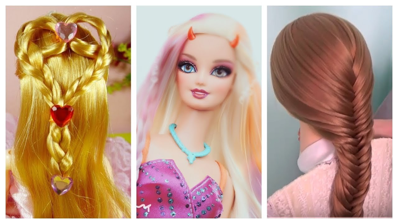 New Barbie Doll Hairstyles How To Make Barbie Hairstyle Ideas With Pictures Original 1024 x 768