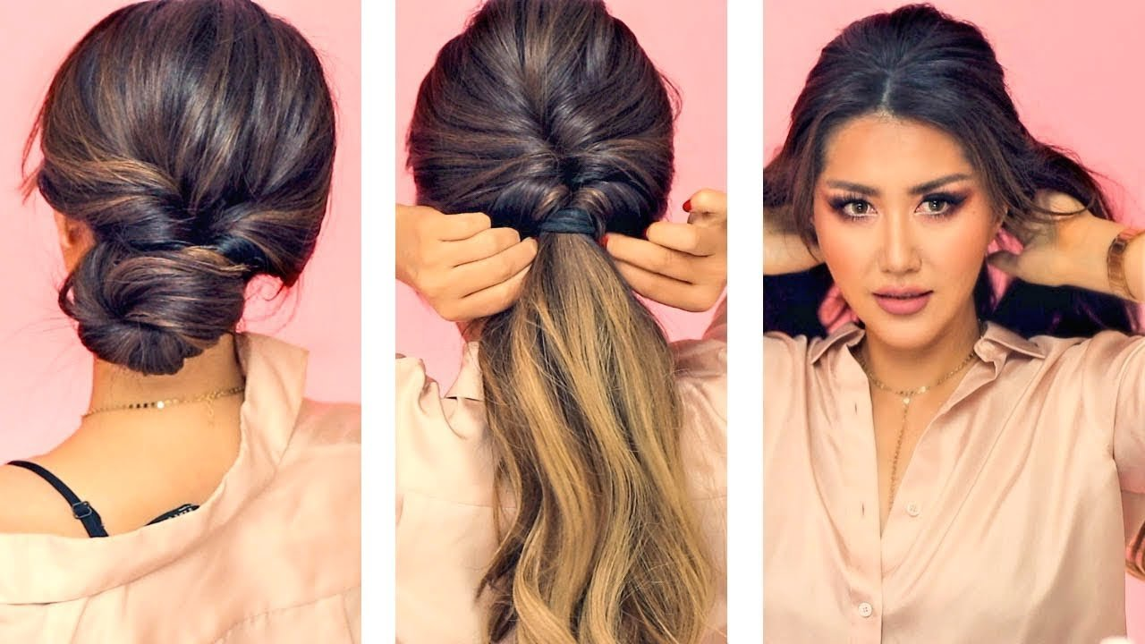 New 1 Min Everyday Hairstyles For Work With Puff Easy Ideas With Pictures