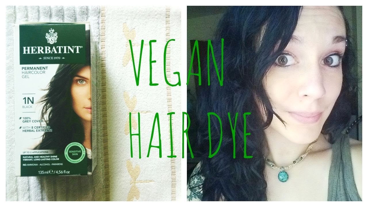 New Herbatint Hair Dye Review Vegan 1N Black Youtube Ideas With Pictures