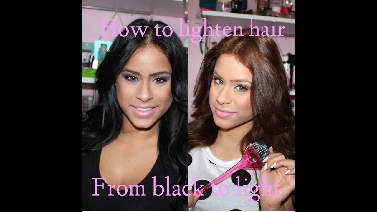 New How To Lighten Dark Hair Hair Care After Youtube Ideas With Pictures