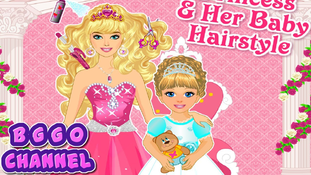 New Princess And Baby Hairstyle Barbie Haircut Games For Ideas With Pictures Original 1024 x 768