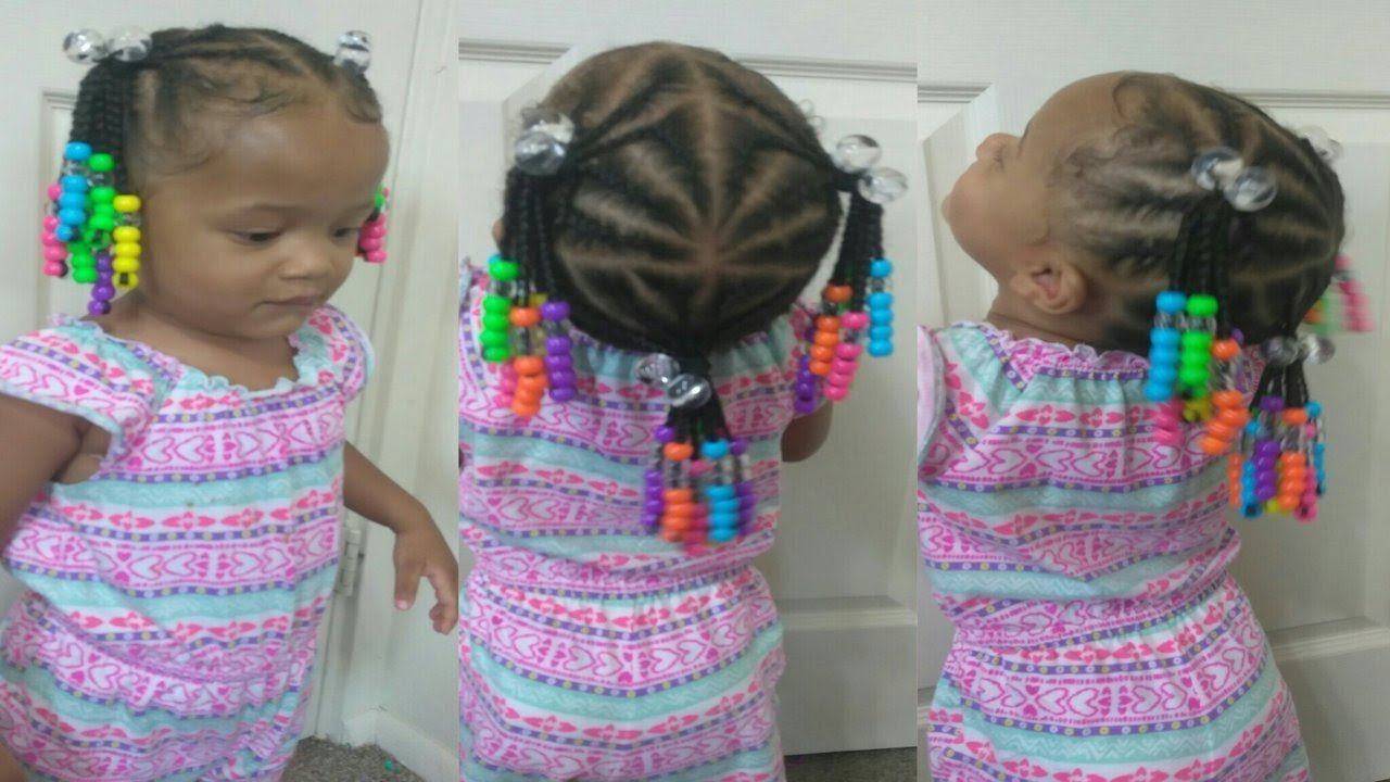 New Cute Hairstyle For 1 Year Old Toddler Natural Hair Braids Ideas With Pictures Original 1024 x 768