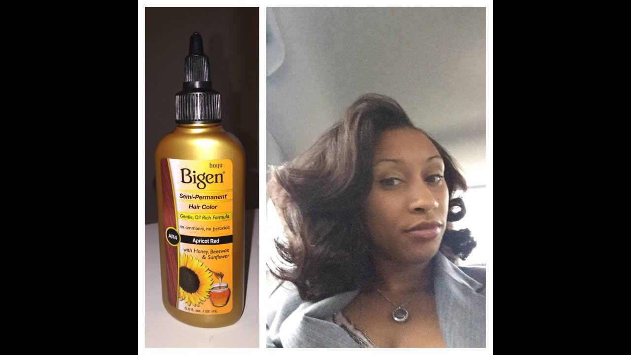New Lashawn Reviews Bigen Semi Permanent Hair Color In Apricot Ideas With Pictures