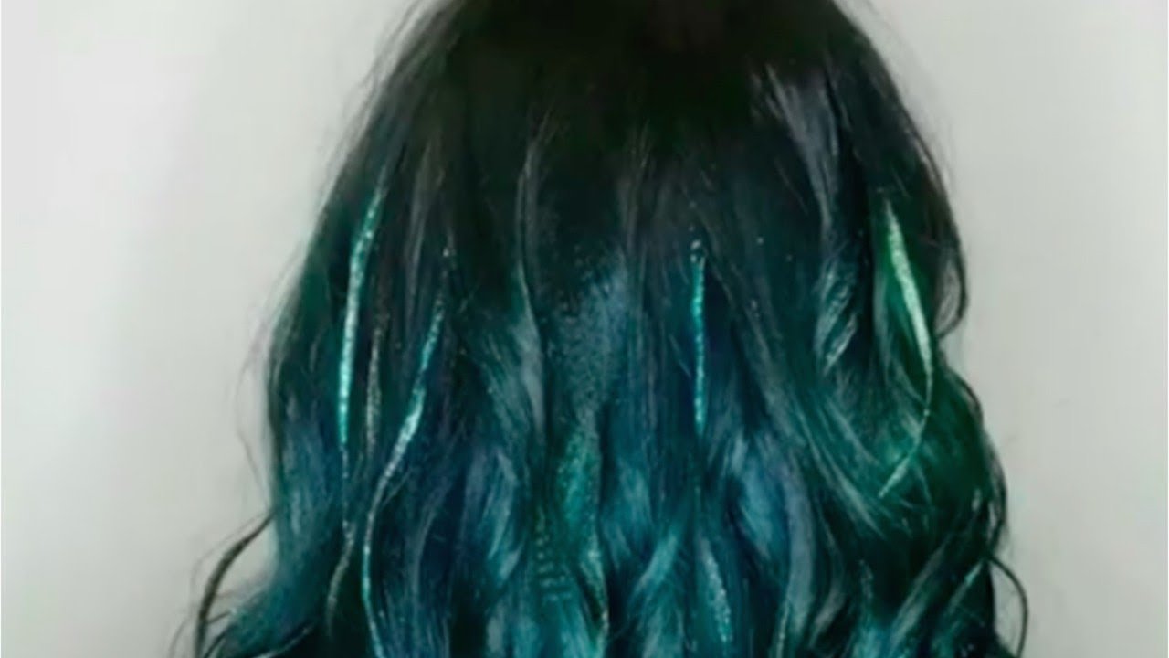 New Hair News Glitter Dye Job Is A Must See Youtube Ideas With Pictures