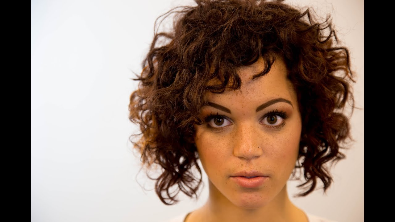 New A Line Bob Haircut On Curly Hair On The Road Education Ideas With Pictures