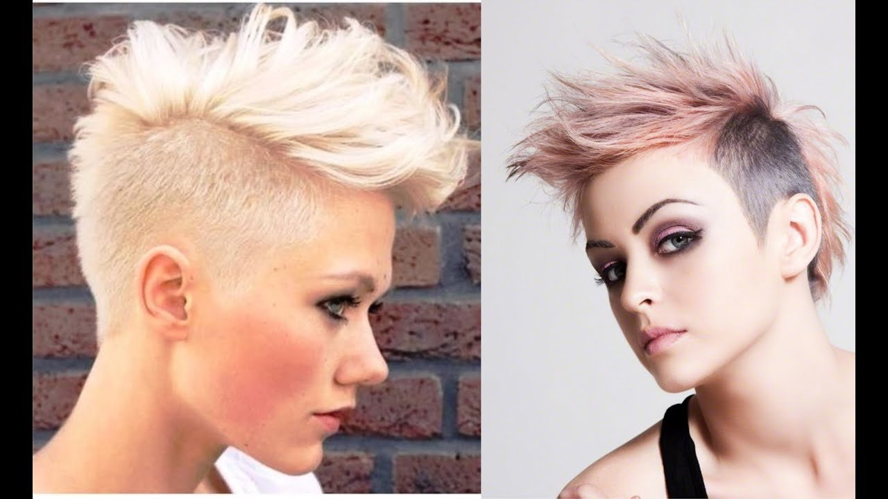 New Female Mohawk Hairstyle Youtube Ideas With Pictures