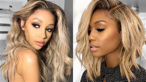 New 2018 Fall Winter 2019 Hairstyle Ideas For Black Women Ideas With Pictures