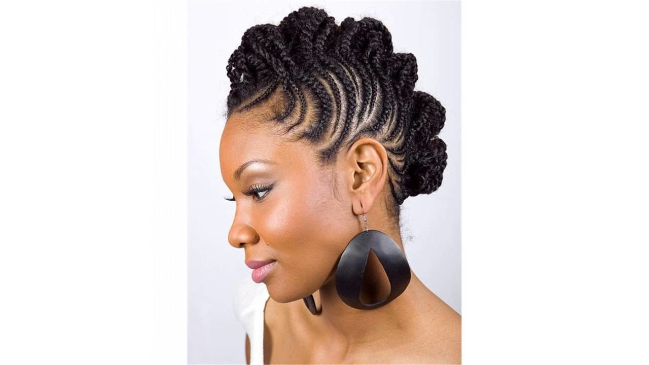 New Black Hair Mohawk Braid Styles Youtube Ideas With Pictures