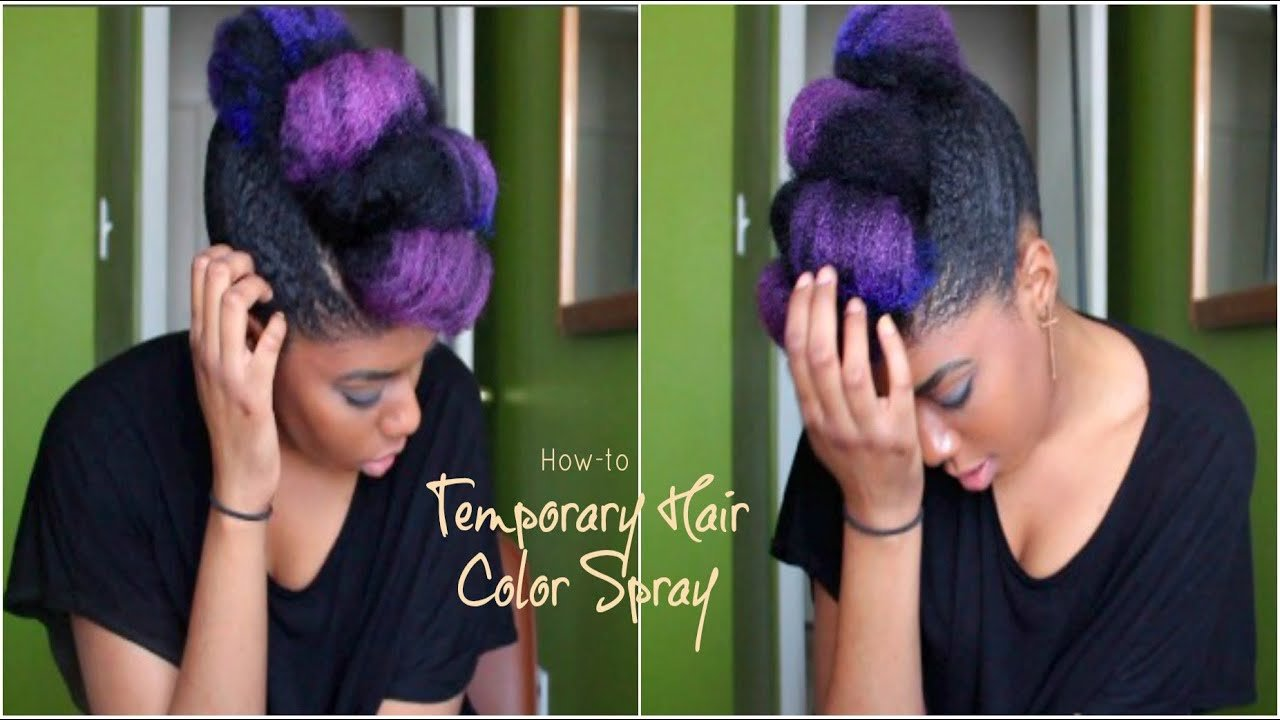 New How To Temporary Color Hair Spray Youtube Ideas With Pictures