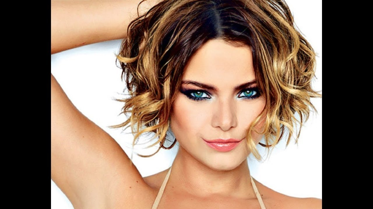 New Short Hairstyles For Wavy Hair Youtube Ideas With Pictures