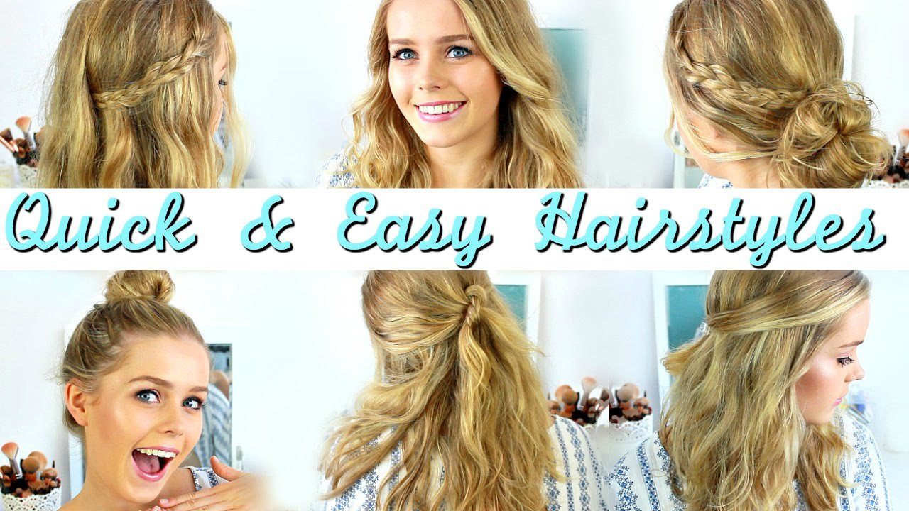 New Quick Easy Heatless Hairstyles How To Style Medium Ideas With Pictures