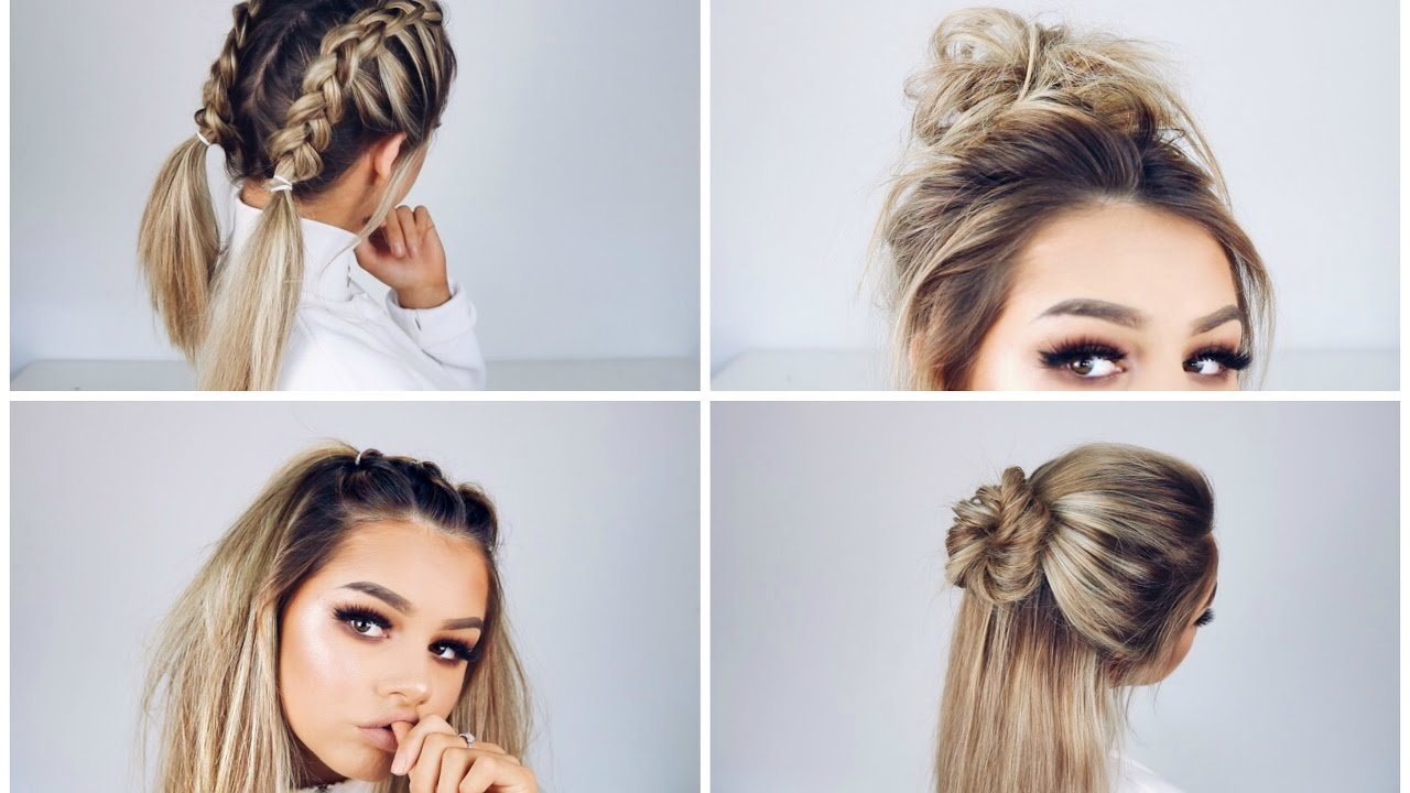 New Quick And Easy Hairstyles Youtube Ideas With Pictures