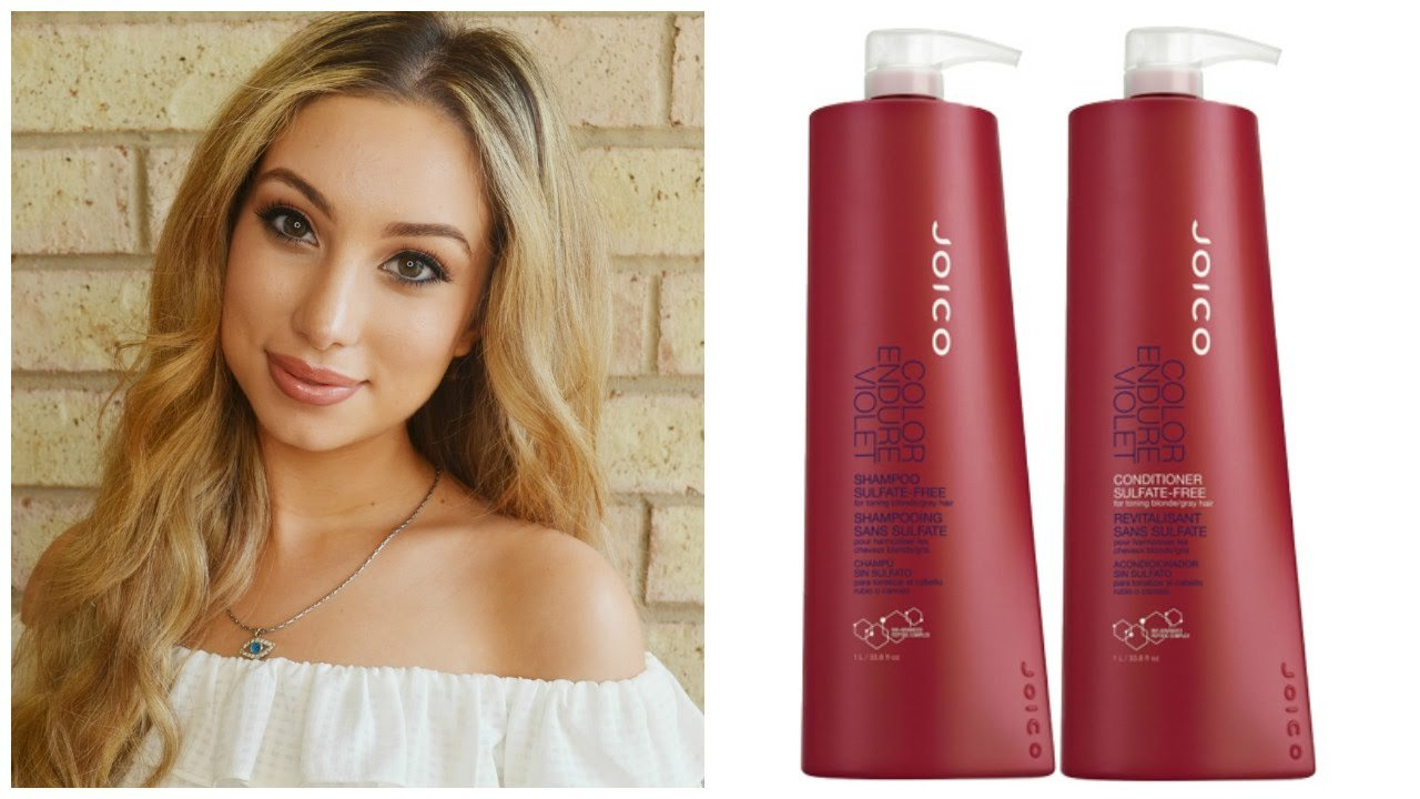 New Review Joico Color Endure Violet Shampoo Conditioner Ideas With Pictures