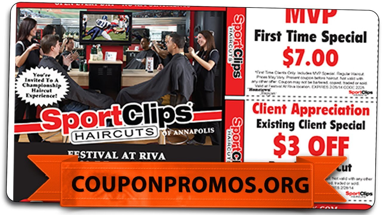 New Sports Clips Coupon Get It Free Haircut 2015 Youtube Ideas With Pictures