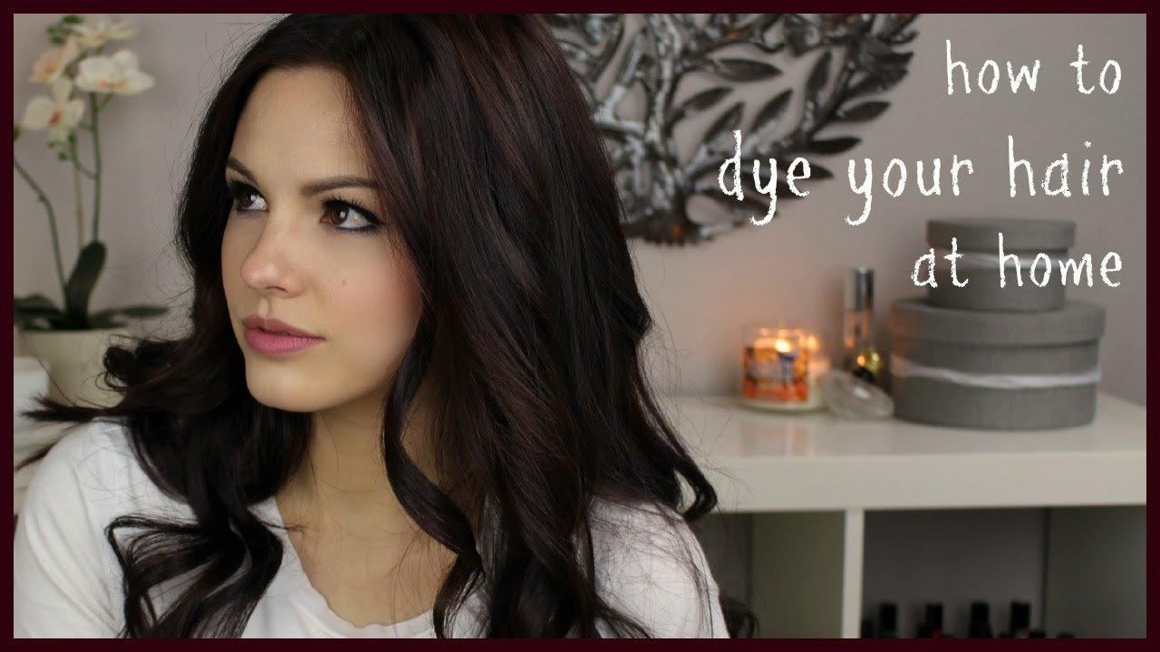 New How To Dye Your Hair At Home Youtube Ideas With Pictures