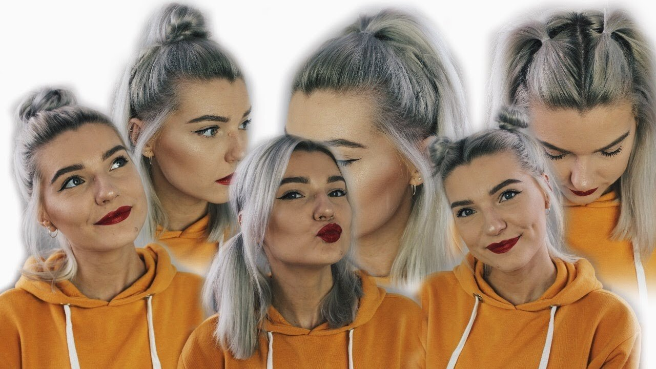 New Six Easy Back To School Hairstyles Short Hair Lovefings Youtube Ideas With Pictures
