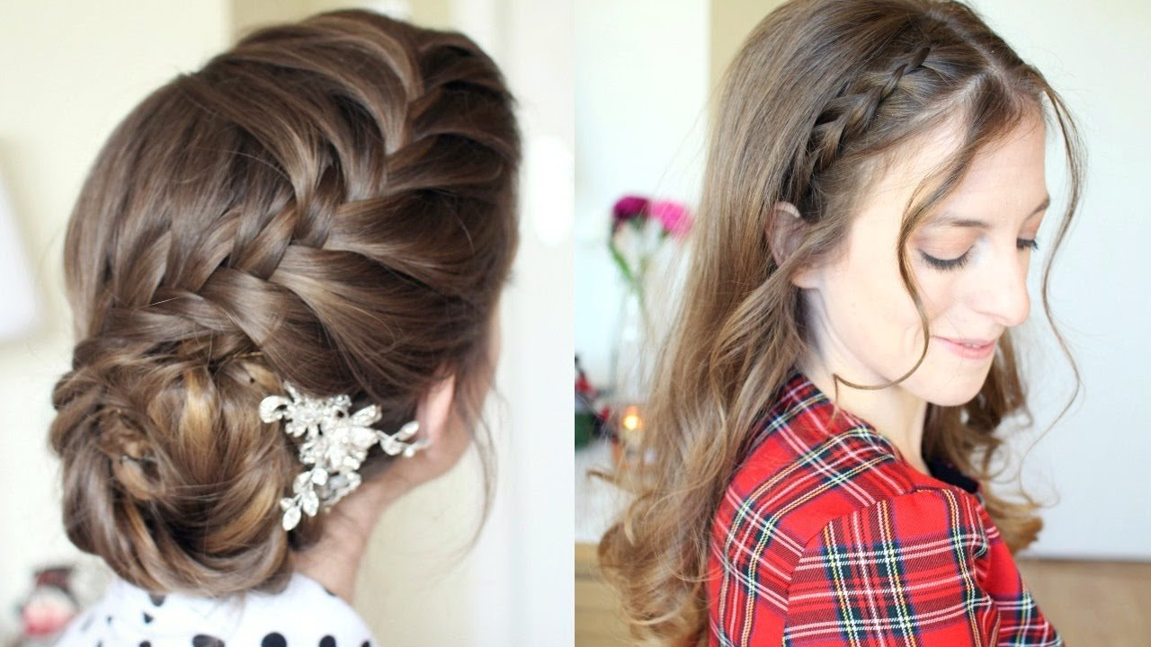 New 2 Pretty Braided Hairstyle Ideas Formal Hairstyles Ideas With Pictures