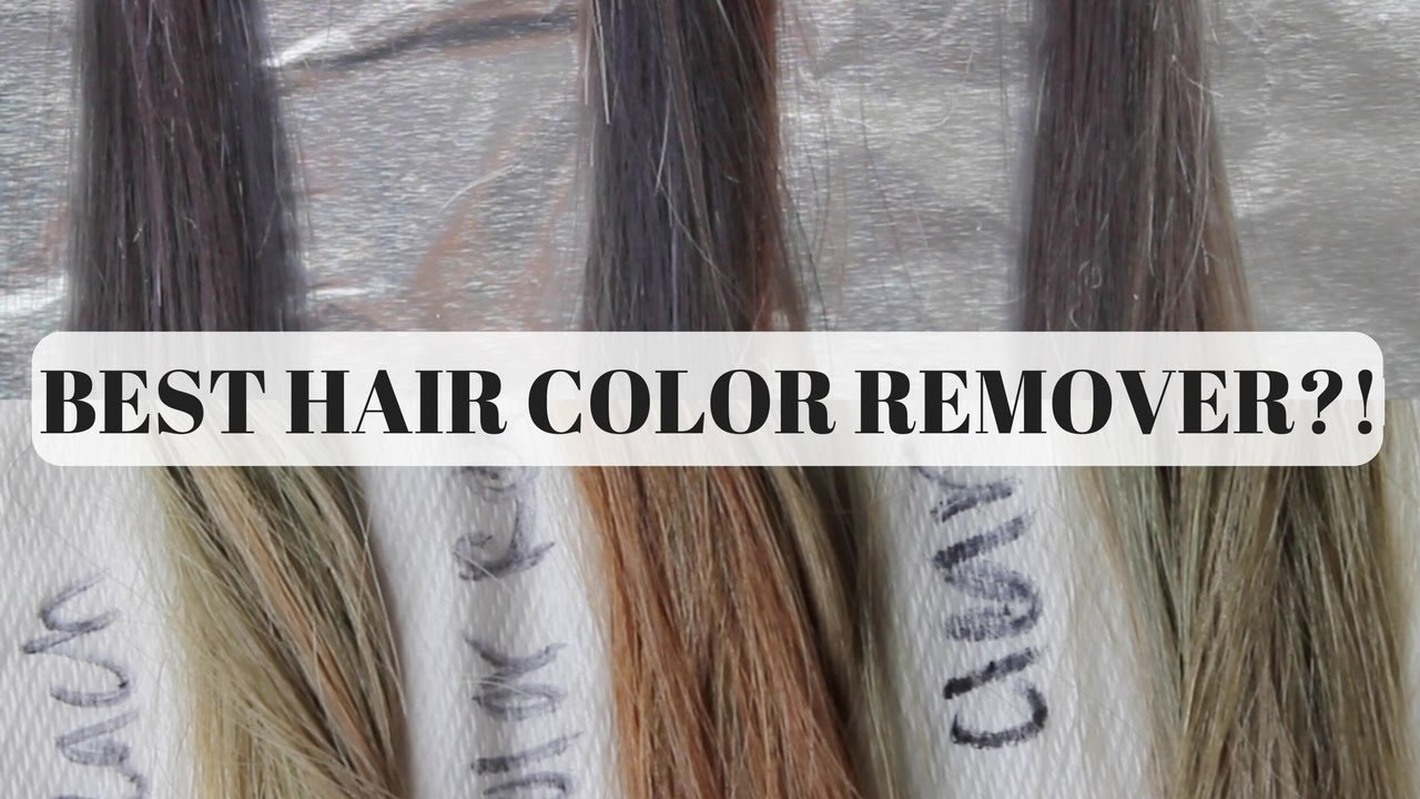 New Best Color Removers For Hair Bleach Color Remover Or Ideas With Pictures