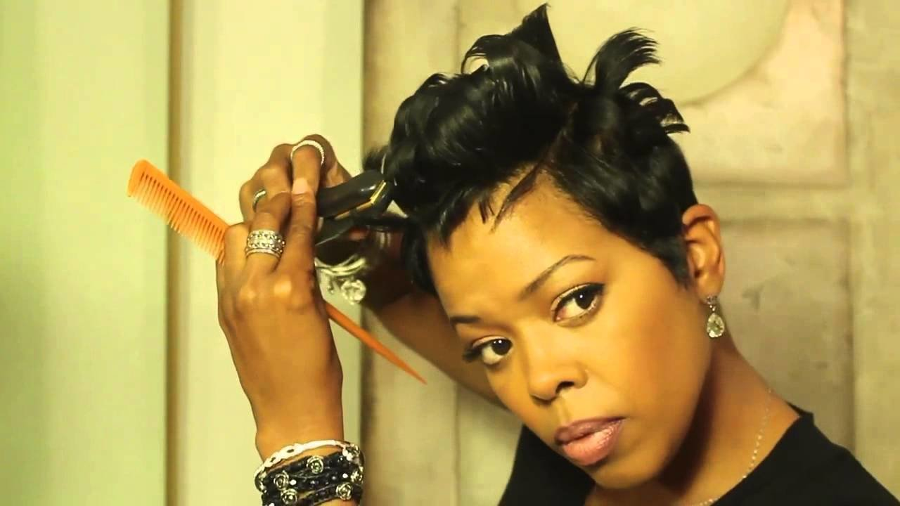 New Malinda Williams Mane Taming 7 A Short Hair Makeover Ideas With Pictures