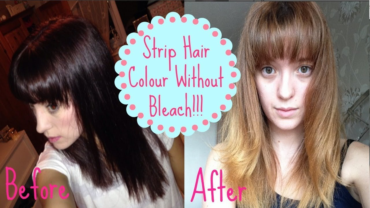 New How To Remove Colour Without Bleach How I Got From Dark Ideas With Pictures