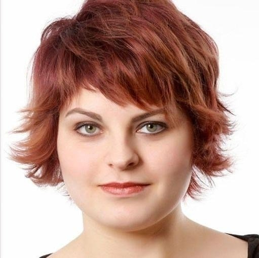 New 2019 Latest Short Hairstyles For Heavy Round Faces Ideas With Pictures