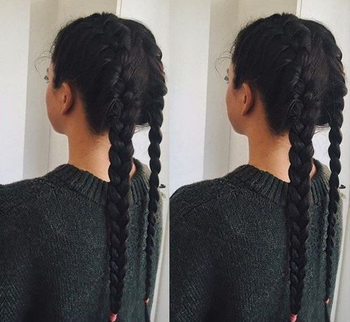 New 35 Two French Braids Hairstyles To Double Your Style Ideas With Pictures