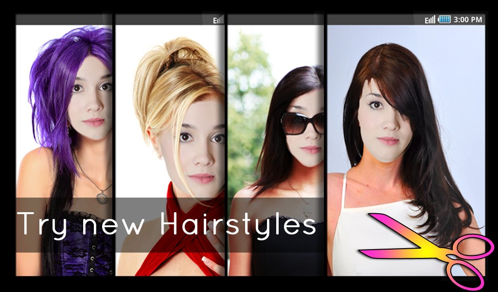 New Hairstyles Fun And Fashion Android Apps On Google Play Ideas With Pictures