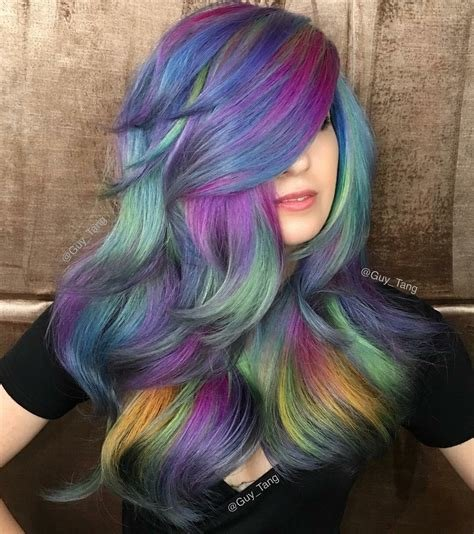 New Guy Tang On Twitter Spring Opal Hair Color For Terabrite Https T Co Irnlfteokb Ideas With Pictures